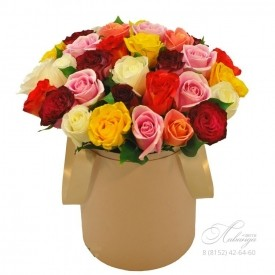 Коробка «Розы Микс»