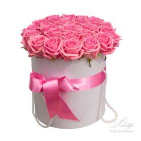 Коробка «Розовые розы»