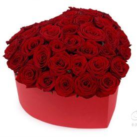 Коробка «Красное сердце»